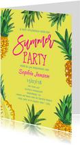 50 jaar tuinfeest Ananas
