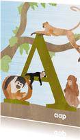 A van aap letterkaart