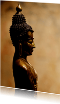 Ansichtkaart  Buddha Beeld - OT