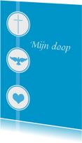 Ansichtkaart doopuitnodiging