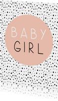 Felicitatiekaarten - Baby - Baby Girl - Oudroze stipjes