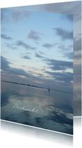 Bedankt water - zee landschap