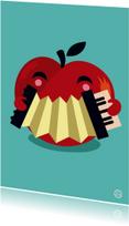 beterschap appel, accordeon, NK