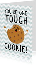 Beterschap kind jongen tough cookie humor