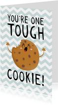 Beterschap kind jongen tough cookie humor