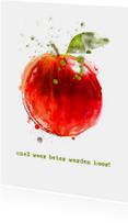 Beterschapskaarten - Beterschapskaart Beterschap Rode Appel