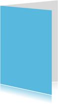 Blauw staand dubbel