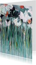 Bloemen Morgen schilderij