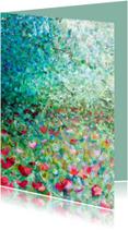 bloemen schilderij Weelde rh