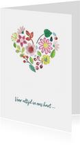 Bloemenhart - voor altijd in ons hart
