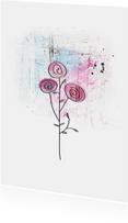 Bloemenkaart Bloemen Zomaar