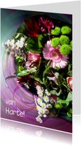 Bloemenkaart Speciaal boeketje