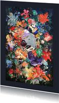 Bloemenschilderij Martine de Ruiter iets fraais