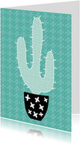 "Cactissimo ""Cactus turqoise"""
