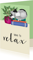 Coachingskaart - relax kat - SK