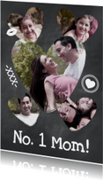 Collage Krijtbord No. 1 Mom - BK