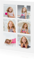 Collagekaart 6 foto's - DH