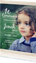 Communie grote foto Jonah - DH