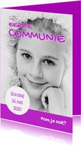 Communiekaart Cover Magazine 2