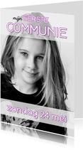 Communiekaart Cover Magazine 5