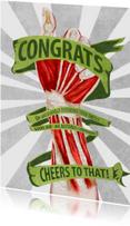 Geslaagd kaarten - Congratulations on your PhD  / gefeliciteerd met je promotie