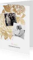 Danksagung Jubiläum Hochzeitstag Fotos & Rosen