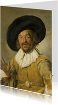 De vrolijke drinker - Frans Hals