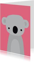 Dierenkaart Lieve Koala