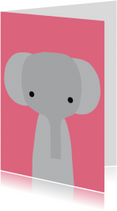 Dierenkaart Olifantje