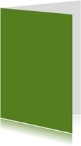 Donker groen dubbel staand