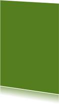 Donker groen enkel staand