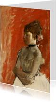 Edgar Degas. Balletdanseres met gekruisde armen