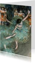 Edgar Degas. Danseres in het groen