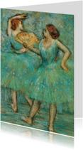 Edgar Degas. Twee danseressen
