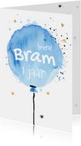 Eerste verjaardag - ballon