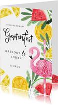 Einladung Gartenfest Sommerlook