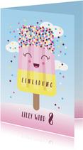 Einladung Kindergeburtstag Icecream Party