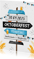 Einladung Wegweiser Oktoberfest