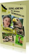 Einladung zum Geburtstag im Wildpark Eekholt