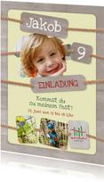 Einladung zum Kindergeburtstag Kletterwald Darmstadt