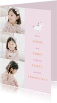 Einladung zum Kindergeburtstag Little Unicorn