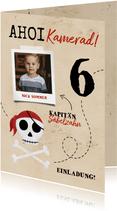 Einladung zum Piraten Kindergeburtstag
