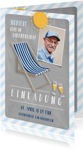 Einladung zum Rentenbeginn Dauerurlaub