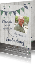 Einladung zum Rentenbeginn Endlich Rentner