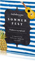 Einladung zum Sommerfest Hawaiilook