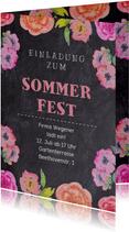 Einladung zum Sommerfest Sommergarten