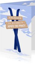 Einladung zur Après-Ski Party mit Bergen