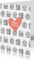 Einladung zur Housewarming mit Herz