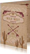 Einladung zur Wild West Party