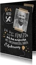 Einladungskarte Geburtstag Erfahrung 50